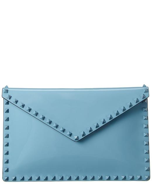 Valentino Rockstud Patent Pouch Uw2p0p56 Pnd Pi4 Wallet Valentino Rockstud Patent Pouch Uw2p0p56 Pnd Pi4 Wallet Image 1