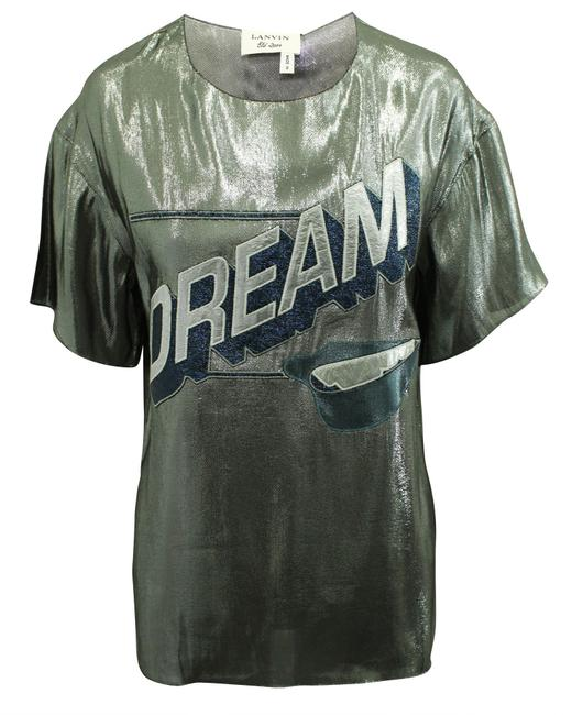 """Item - Silver """"Dream"""" Top Collection 2014 -pre Owned Condition Very Blouse"""