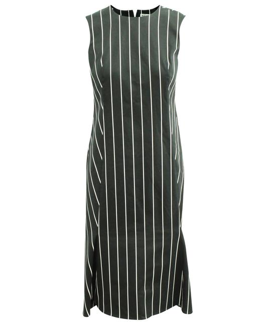 Item - Black Striped -pre Owned Condition Very Good Eu36 Cocktail Dress
