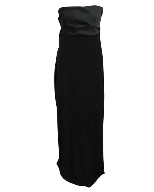 Item - Black Strapless Evening with Bow At The Back 2013 -pre Formal Dress