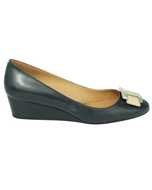 Item - Navy Blue -pre Owned Condition Excellent 40 Wedges
