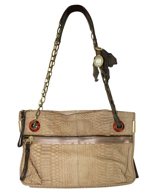 Item - Brown Python Amalia -pre Owned Condition Very Good One Size Shoulder Bag
