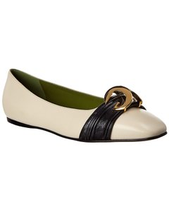 Gucci Leather 572089 C9d10 9578 Flats