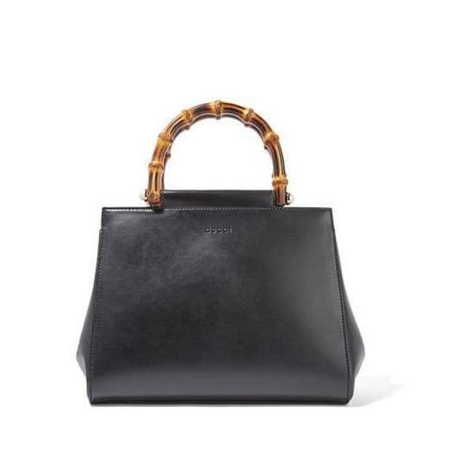 Gucci Nymphaea Bamboo Small Leather It Tote Gucci Nymphaea Bamboo Small Leather It Tote Image 1