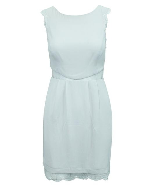 Item - Light Grey Shift -pre Owned Condition Very Good Us4 Cocktail Dress