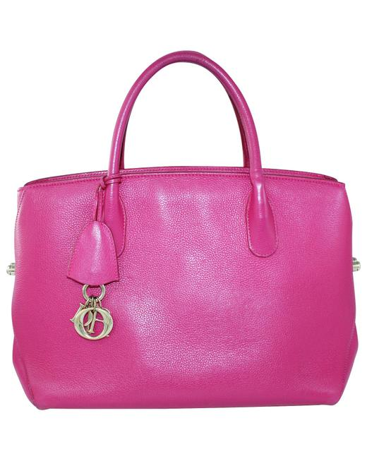 Item - Open Bar Pink Leather -pre Owned Condition Very Good One Tote