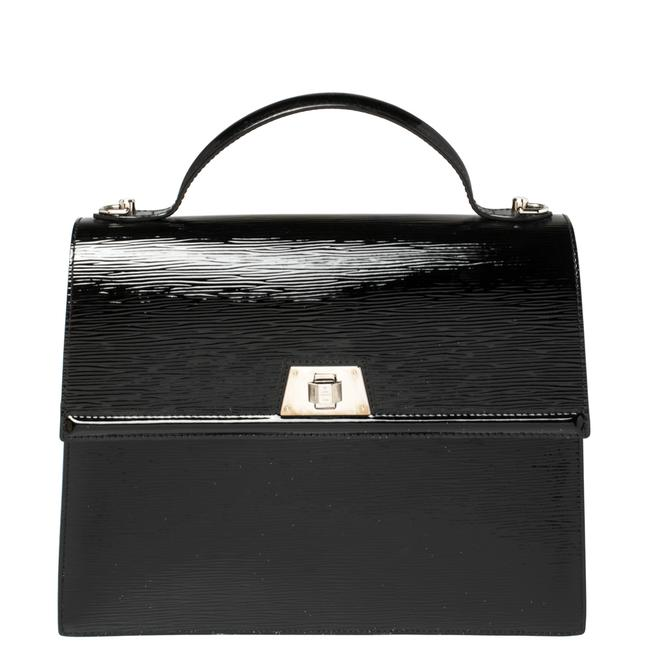 Item - Black Electric Epi Leather Sevigne Gm Bag Wristlet