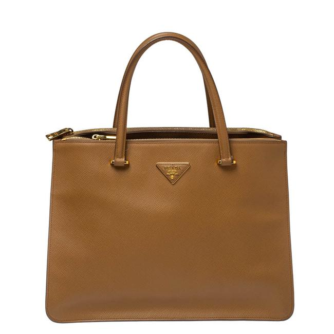 Item - Saffiano Cuir Leather City Tote
