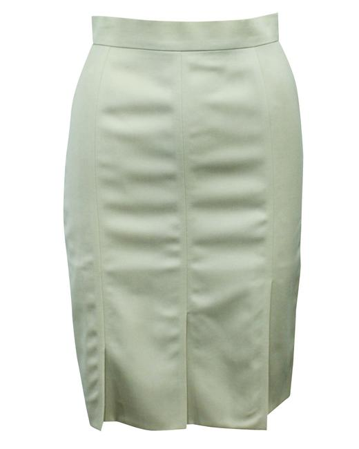 Item - Beige Pencil Wool -pre Owned Condition Very Good Eu34 Skirt