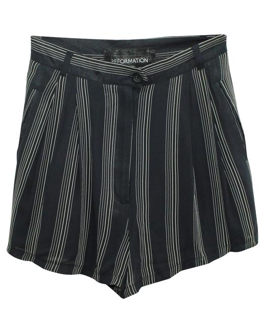 Item - Navy Blue Striped -pre Owned Condition Very Good Shorts
