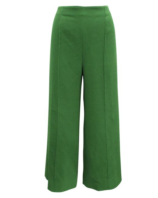 Item - Dark Green Wide Leg -pre Owned Condition Very Pants