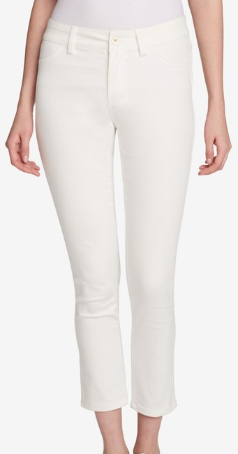 Item - Women's Jeans Pearl White Size 14x31 Cropped Stretch Pants