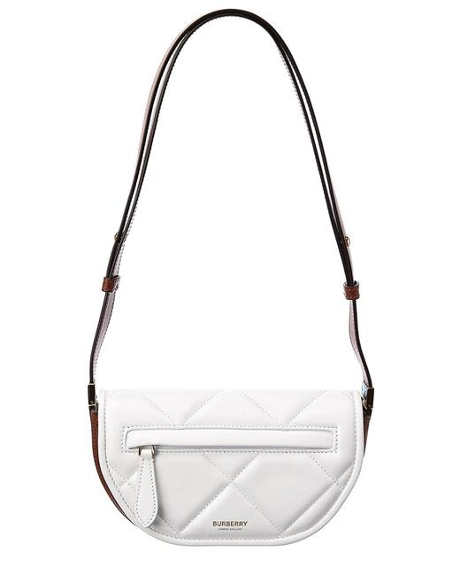 Burberry Mini Olympia Quilted Leather 8036844 Shoulder Bag Burberry Mini Olympia Quilted Leather 8036844 Shoulder Bag Image 1