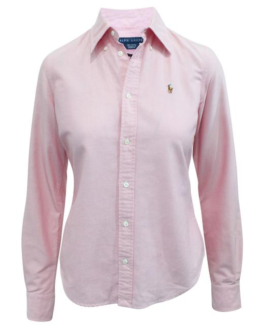 Item - Slim Fit Pink -pre Owned Condition Very Good Us4 Tee Shirt