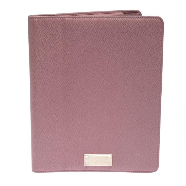 Item - Light Pink Leather Ipad Cover Tech Accessory