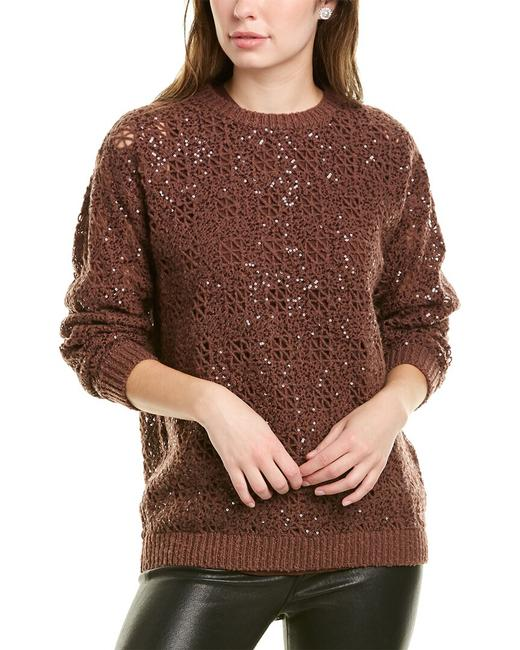 Item - Open-knit Cashmere Wool-blend Bcwsweater205 Sweater/Pullover