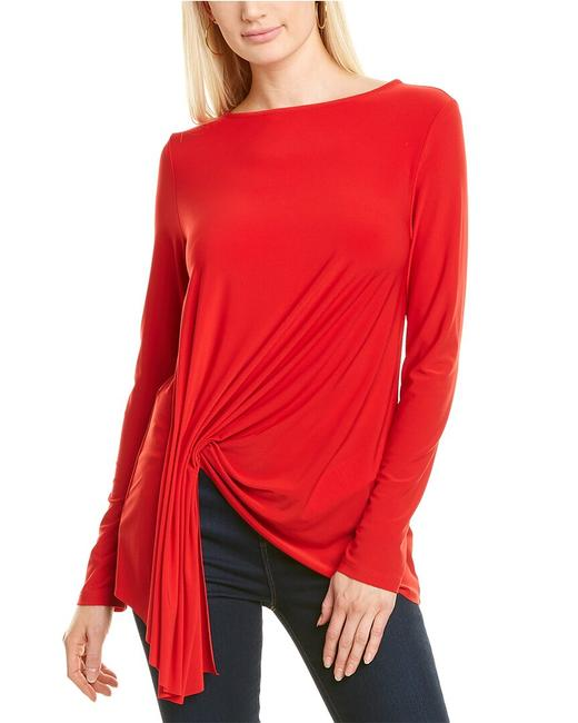 Joseph Ribkoff Ruched Top 203286 Blouse Joseph Ribkoff Ruched Top 203286 Blouse Image 1