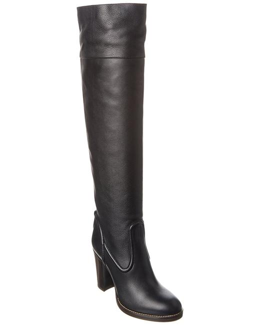 Chloé Over-the-knee Leather Chc20a34 8m4 001 Boots/Booties Chloé Over-the-knee Leather Chc20a34 8m4 001 Boots/Booties Image 1