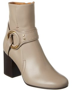 Chloé Demi Buckle Leather Chc20a36 001 23w Boots/Booties