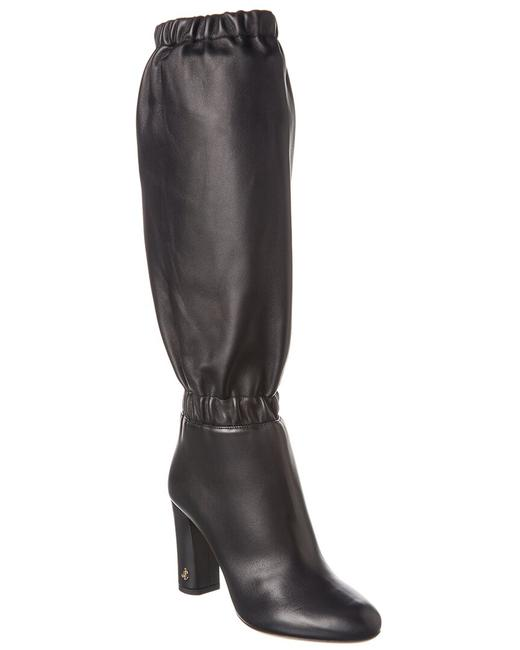 Jimmy Choo Leather Maxyn 85 Res Black Boots/Booties Jimmy Choo Leather Maxyn 85 Res Black Boots/Booties Image 1