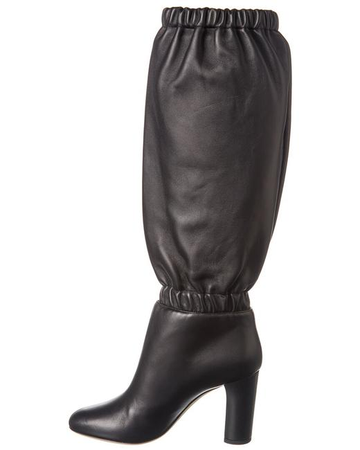 Jimmy Choo Leather Maxyn 85 Res Black Boots/Booties Jimmy Choo Leather Maxyn 85 Res Black Boots/Booties Image 2