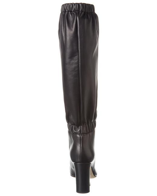 Jimmy Choo Leather Maxyn 85 Res Black Boots/Booties Jimmy Choo Leather Maxyn 85 Res Black Boots/Booties Image 3