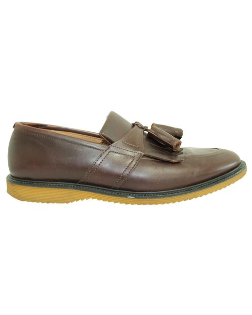 Item - Brown Loafers with Tassels For Men Flats