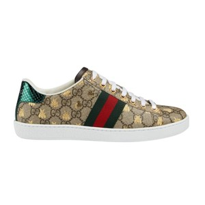 Gucci Ace Gg Supreme Sneakers with Bees Athletic