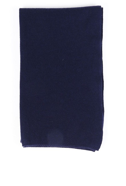 Item - Blue Cashmere Knit Scarf/Wrap