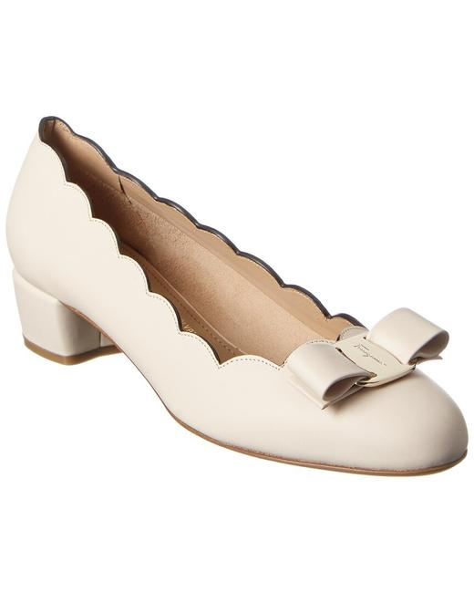 Item - Vara Bow Leather 01r389 733819 Pumps
