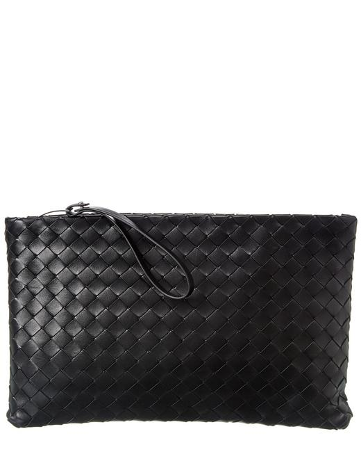 Item - Large Intrecciato Leather Pouch 608249 Vcpp1 8803 Wallet