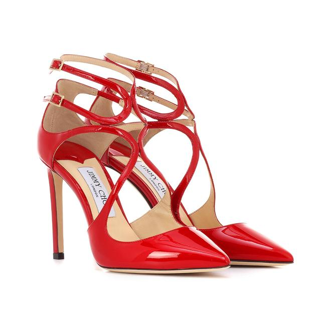 Item - Women's Patent Leather Lancer 100 Red Pumps