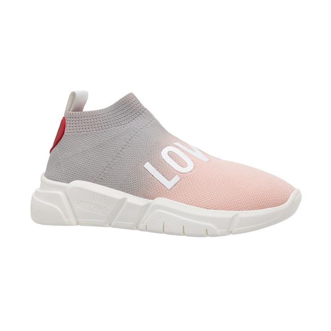 Item - Love Women's Stretch Trainer Pink Sneaker Athletic