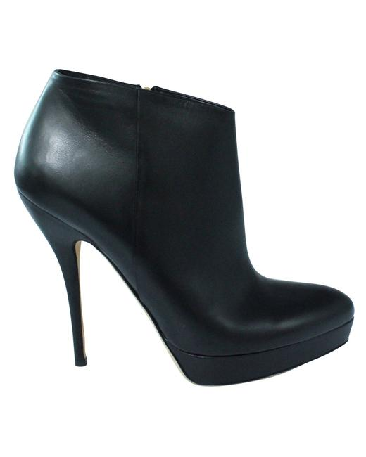 Item - Black Soft Leather Ankle Boots/Booties