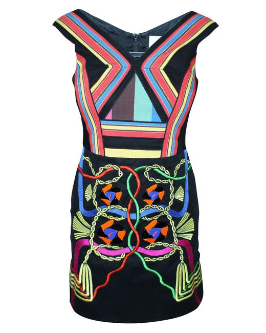 Item - Colorful Dress with Plastic Elements