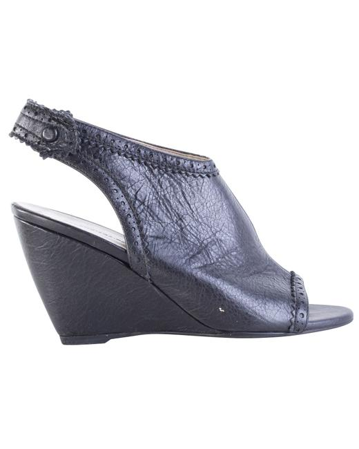 Item - Black Open -pre Owned Condition Very Good 36.5 Wedges