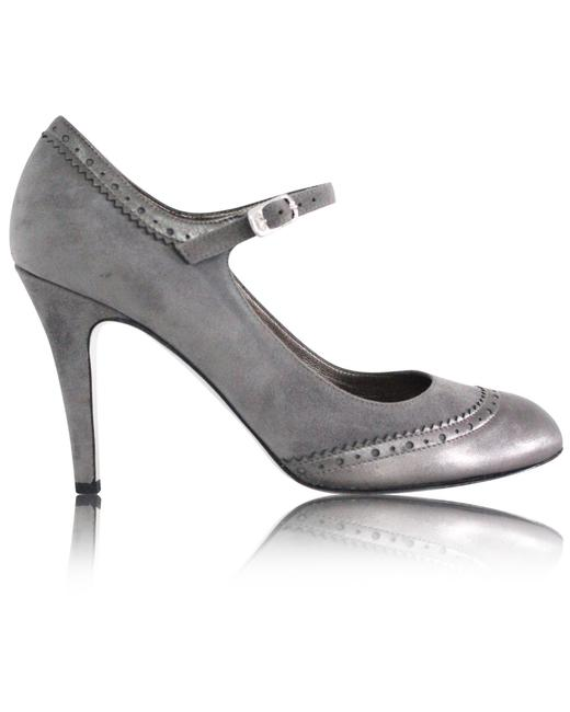Item - Suede Ankles Strap Pumps -pre Owned Condition Excellent Formal