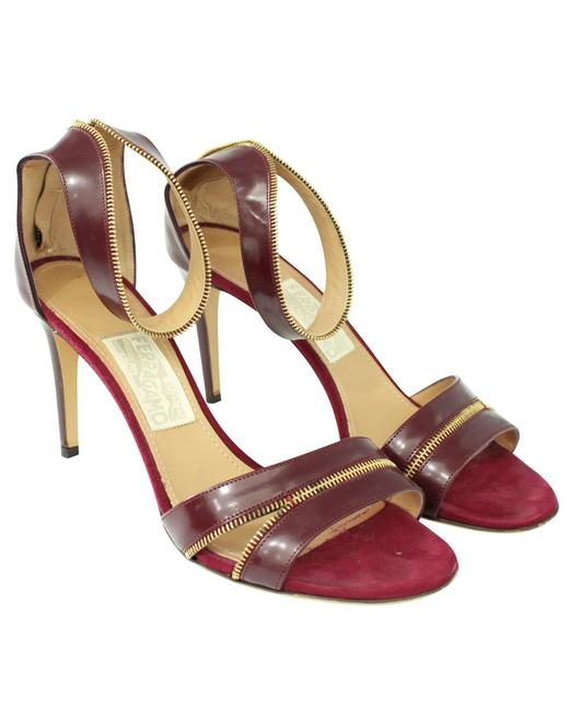 Item - Burgundy Patent Pumps -pre Owned Condition Formal