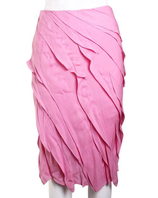 Item - Ruched Light Pink -pre Owned Condition Very Good Fr34 Skirt