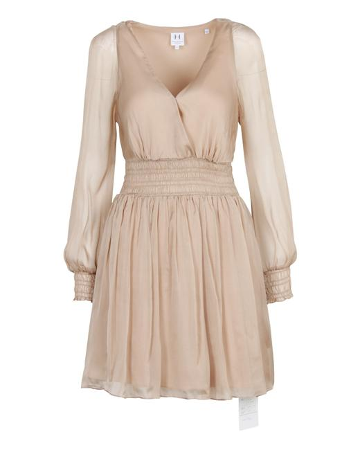 Item - Heritage Nude Long Sleeves Tunic -pre Owned Condition Formal Dress