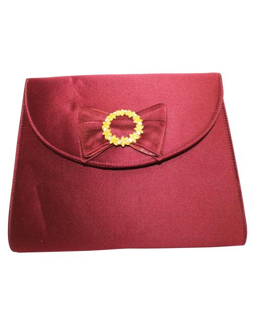 Item - Satin Bag -pre Owned Condition Very Good One Size Clutch