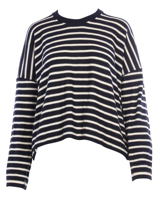 Item - Stripes Over Size Knitted Top -pre Owned Condition Cardigan