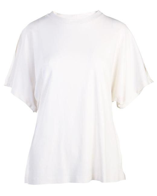 Item - L White Tee -pre Owned Condition Very Good Blouse