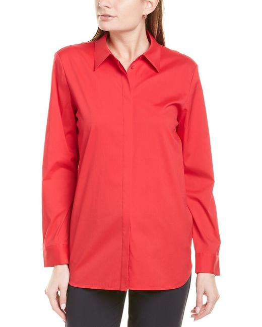 Lafayette 148 New York Brody Mbr83r-3966 Blouse Lafayette 148 New York Brody Mbr83r-3966 Blouse Image 1