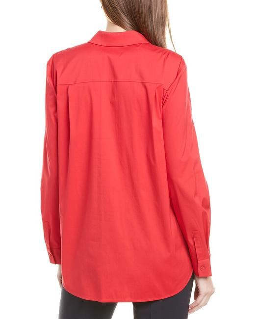 Lafayette 148 New York Brody Mbr83r-3966 Blouse Lafayette 148 New York Brody Mbr83r-3966 Blouse Image 2