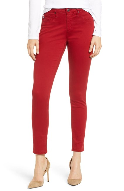 Item - Women's Jeans Red Size 28 Skinny Jeggings Pants