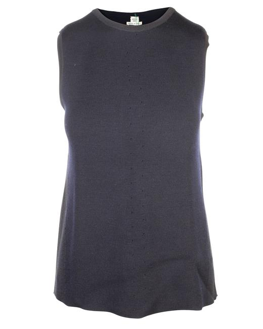 Item - Sleeveless Knitted Top Blouse