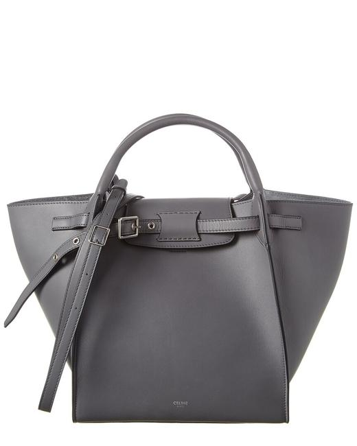 Item - Big Bag Small Leather 18931 3a4t 09gm Tote