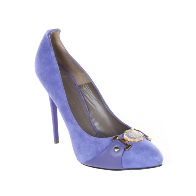 Item - Collection Women's Suede Leather Buckle Pumps
