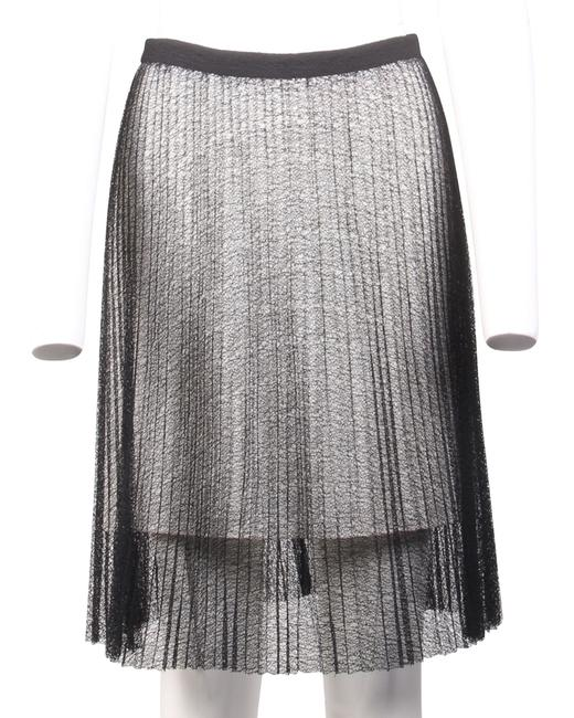 Item - Black and White Lace Skirt